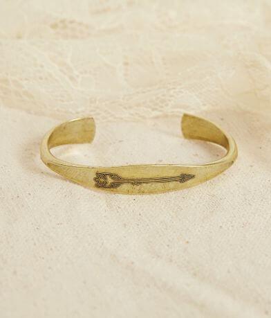 Quinn & Copper Arrow Cuff Bracelet