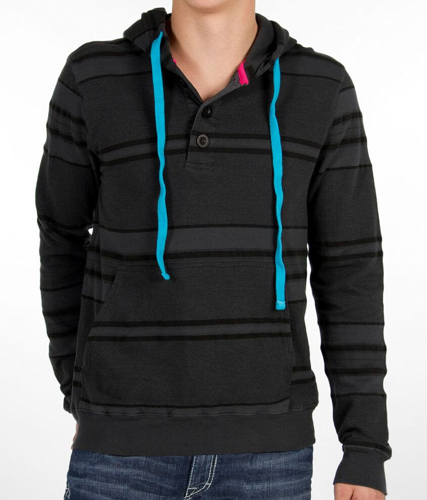 Topo Ranch Pancho Henley Hoodie front view