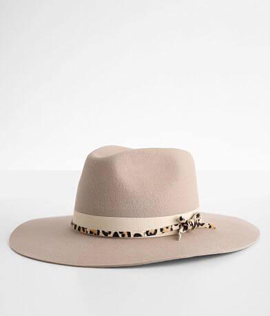 Wyeth Felt Cheetah Print Panama Hat
