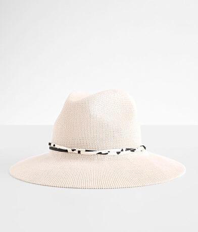 Wyeth Open Weave Fedora Hat