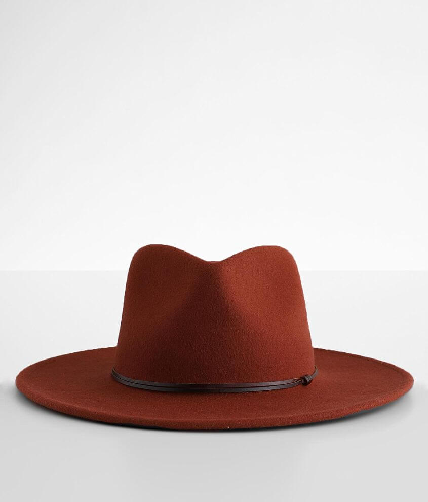 Wyeth Thin Banded Panama Hat front view