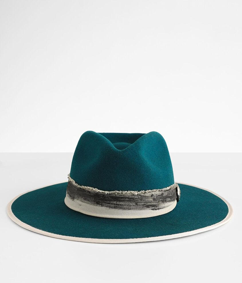 Wyeth Frayed Panama Hat front view
