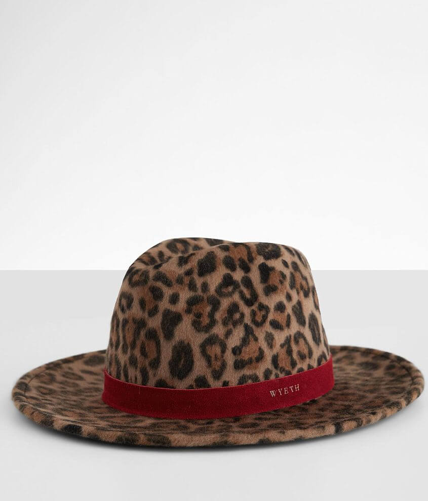 Wyeth Leopard Panama Hat front view