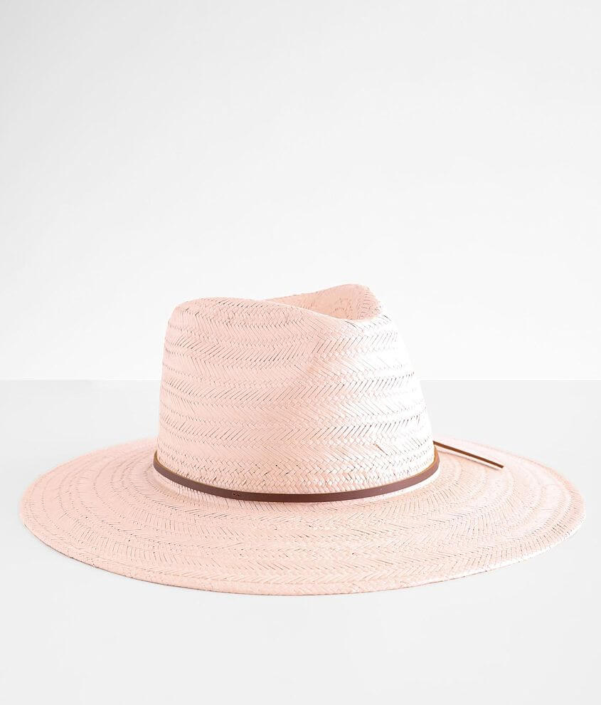 Wyeth Straw Panama Hat front view