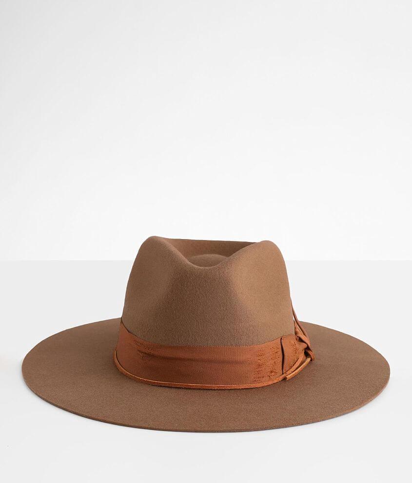 Wyeth Raw Edge Panama Hat front view