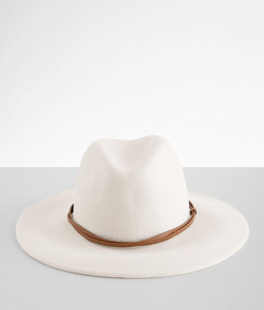 Wyeth Banded Panama Hat front view