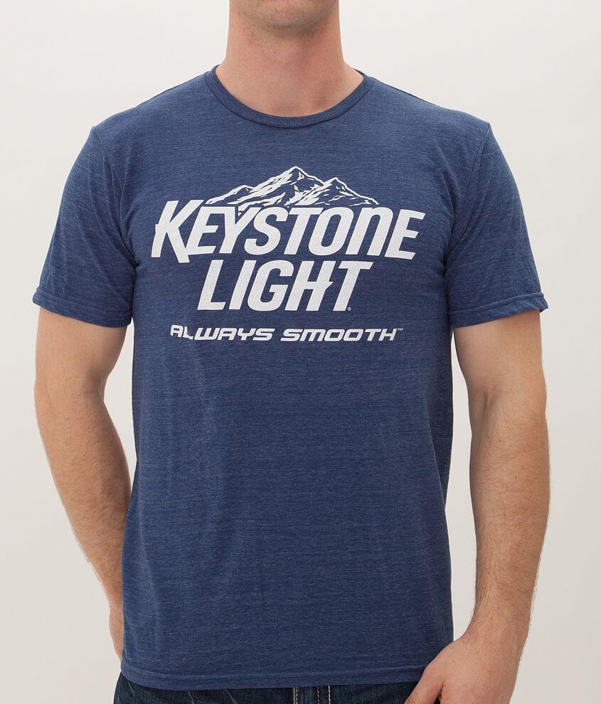 tee luv Keystone Light T-Shirt front view