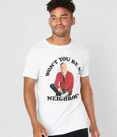 tee luv Mr. Rogers T-Shirt