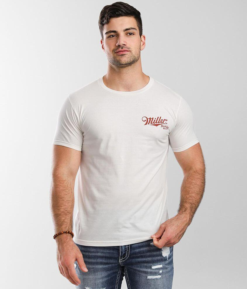 tee luv Miller® High Life T-Shirt front view