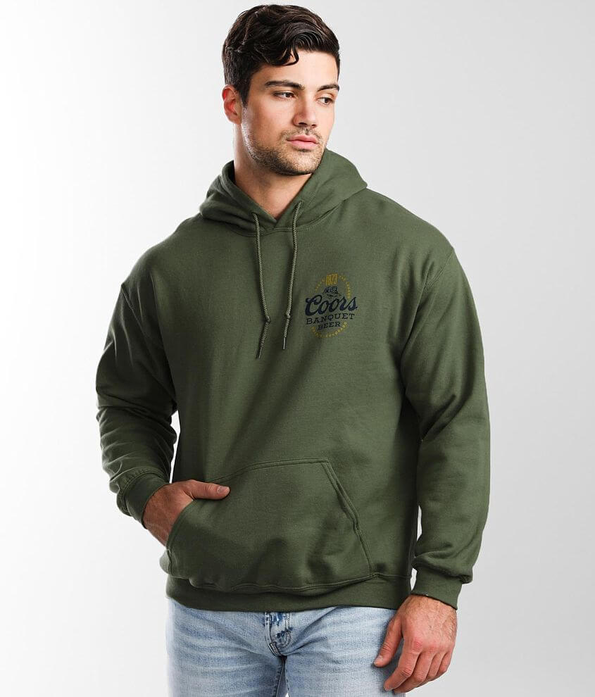 tee luv Coors ® Banquet Hooded Sweatshirt front view