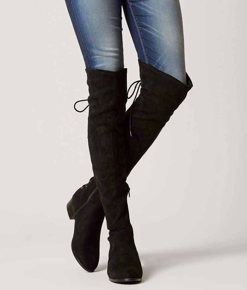 Official Sale Online Enjoy For Sale buckle over-the-knee boots 0xXrRus
