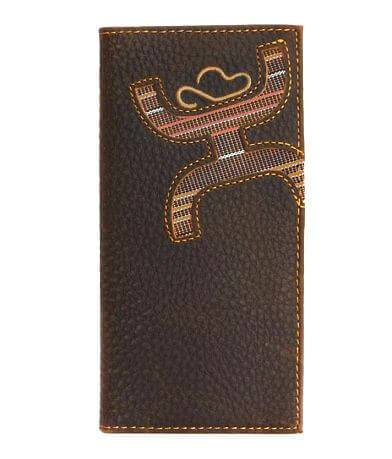 Hooey Signature Leather Rodeo Wallet
