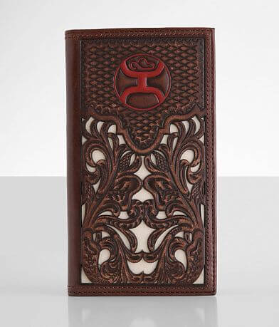 Hooey Rodeo Tooled Leather Wallet