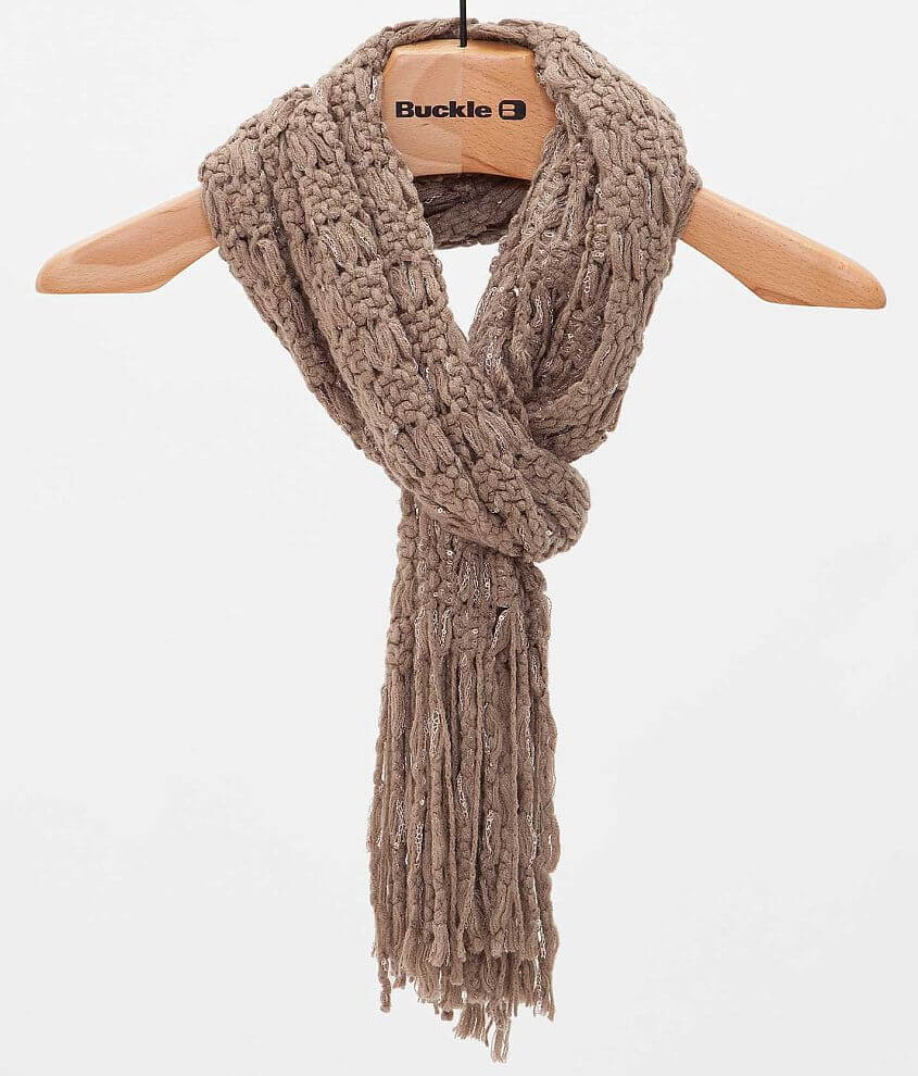Fringe Scarf front view