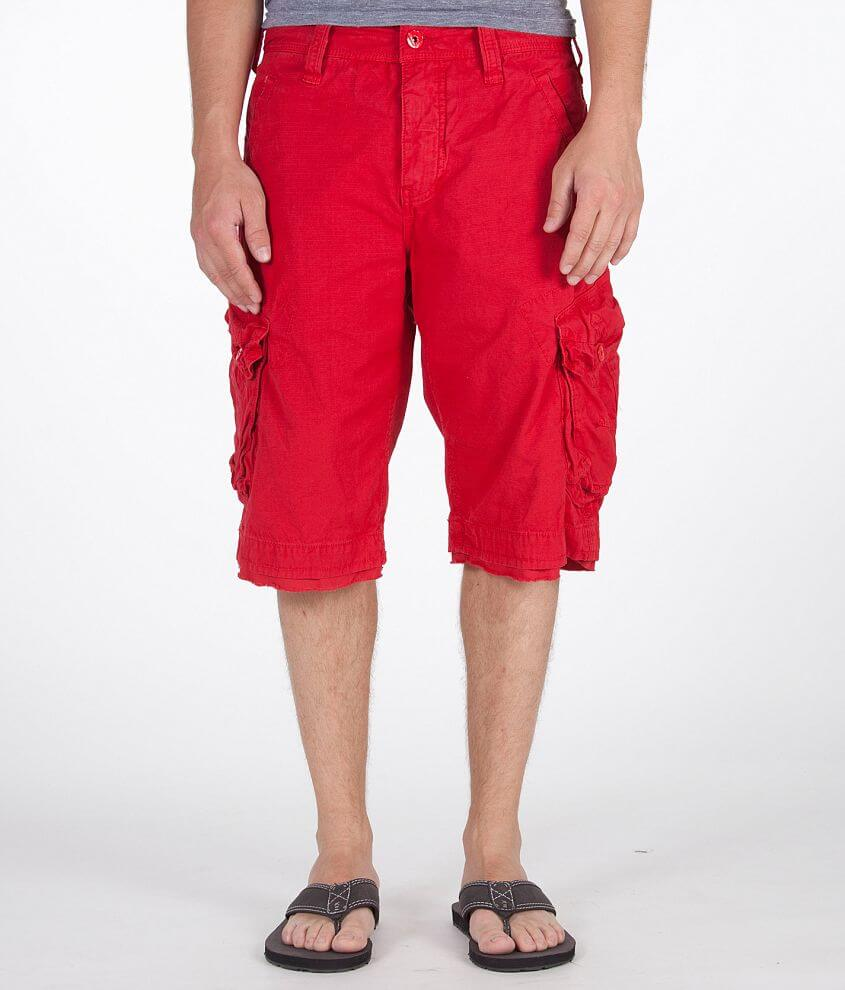 32bf3c2f1bbb47 Jet Lag Take Off 3 Cargo Short - Men's Shorts in Red | Buckle