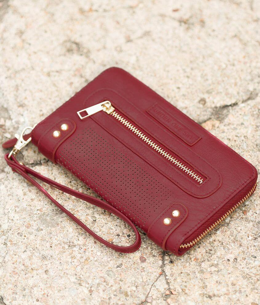 Under One Sky Perforated Wallet front view