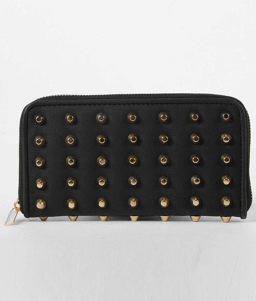 Under One Sky Studded Wallet front view