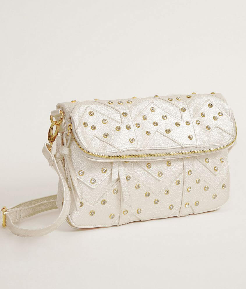 Under One Sky Rhinestone Purse front view