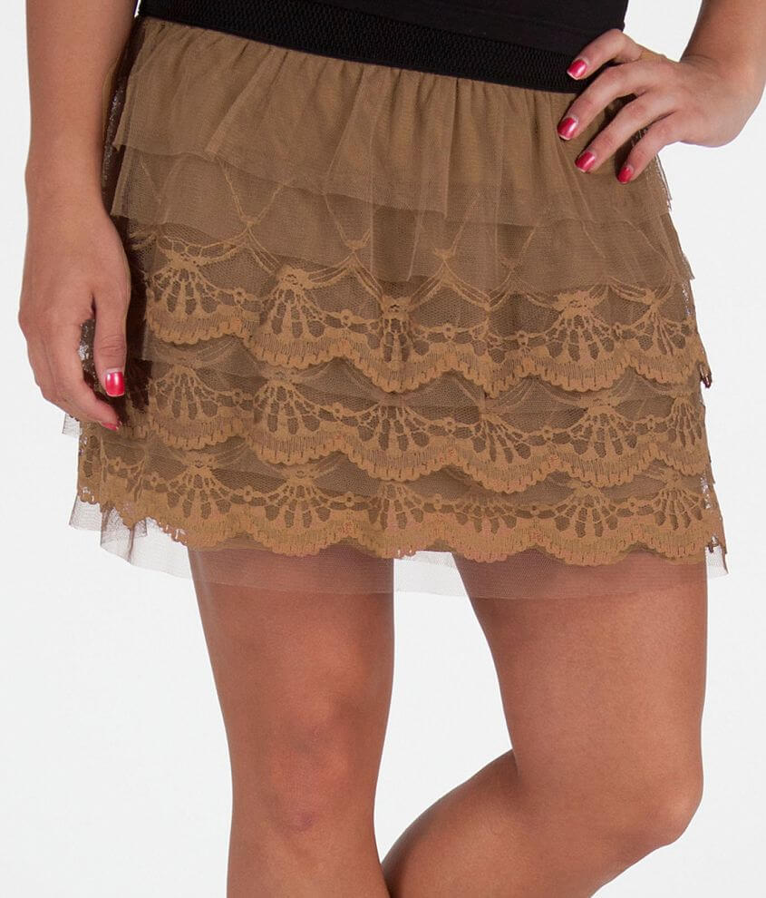 Daytrip Tiered Skirt front view