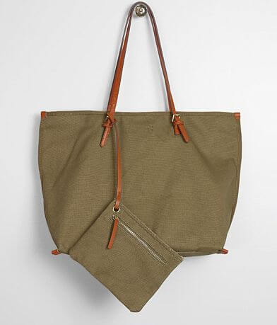 Street Level Solid Canvas Tote