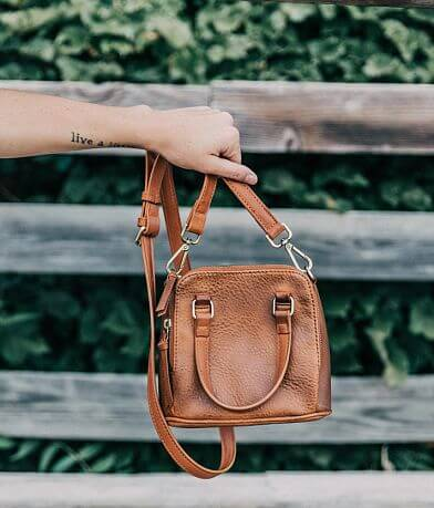 Faux Leather Mini Purse