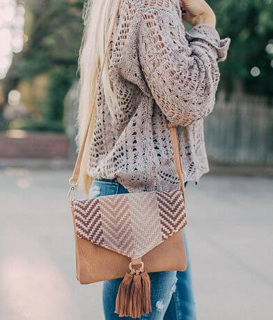 Weaved Crossbody Purse