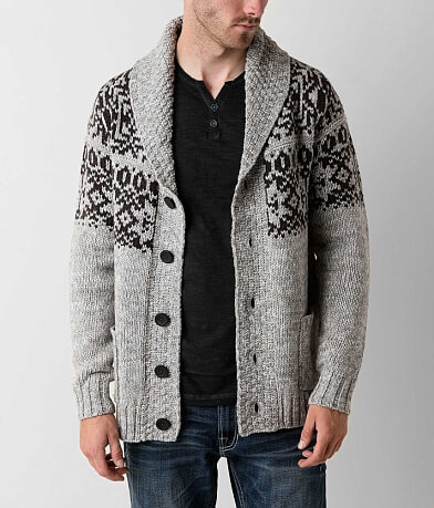 Triple 5 Soul Open Weave Cardigan Sweater
