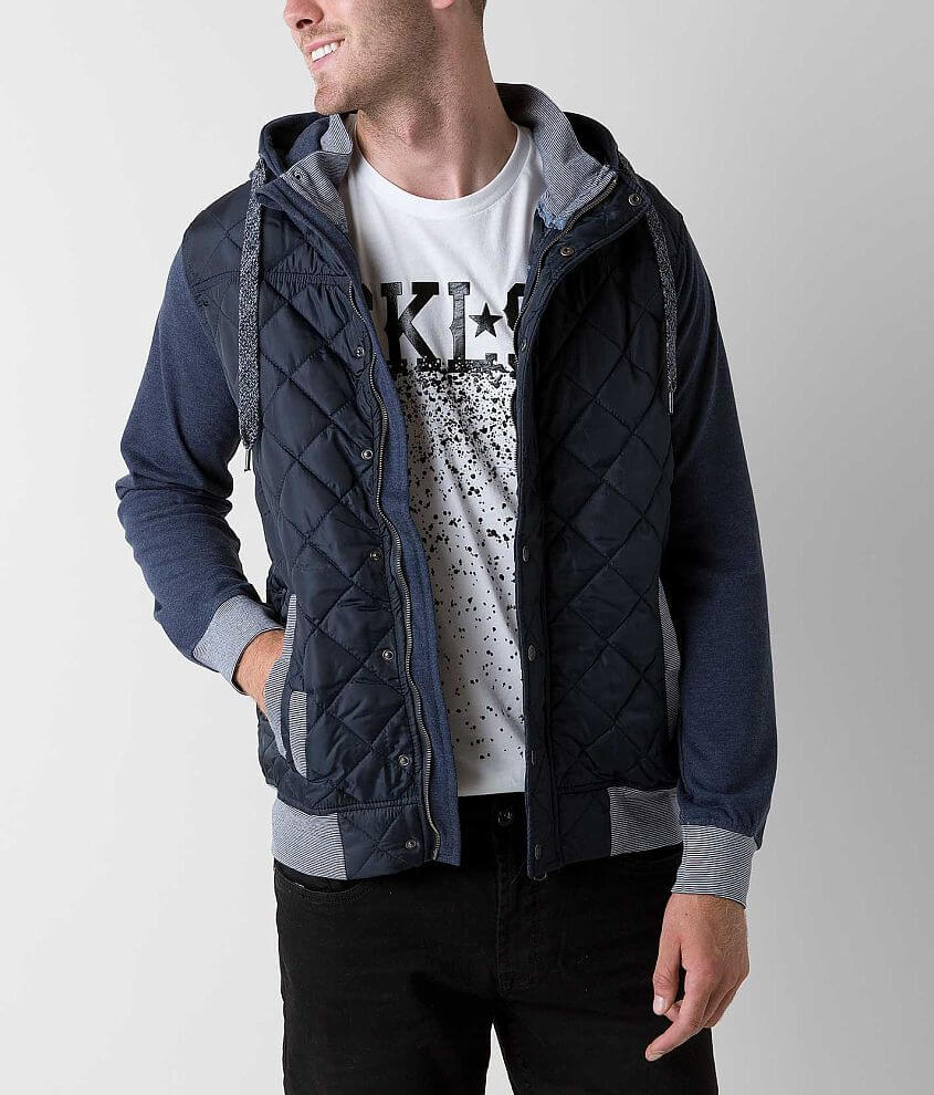 Triple 5 Soul Quilted Jacket front view