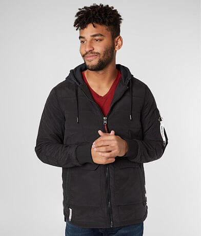 Triple 5 Soul Quilted Cotton Hooded Jacket