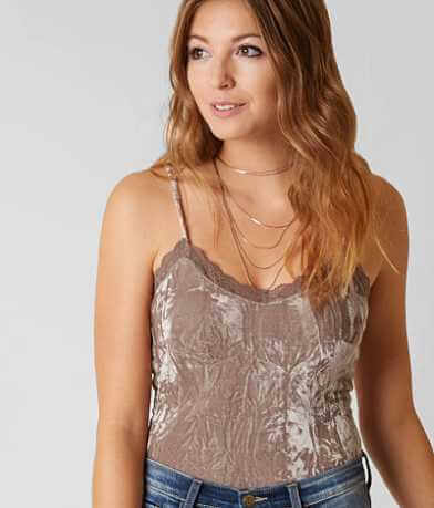 Daytrip Crushed Velvet Bodysuit