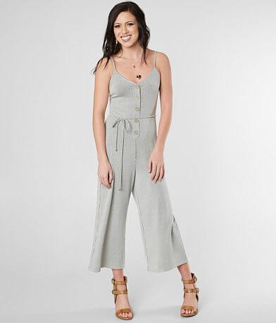 Daytrip Striped Knit Jumpsuit