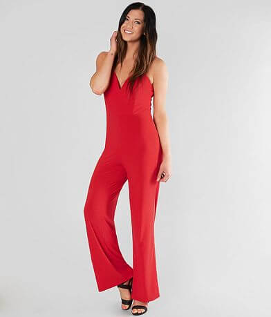 Daytrip Solid V-Wire Jumpsuit
