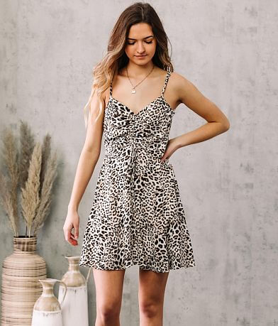 Willow & Root Cheetah Print Dress