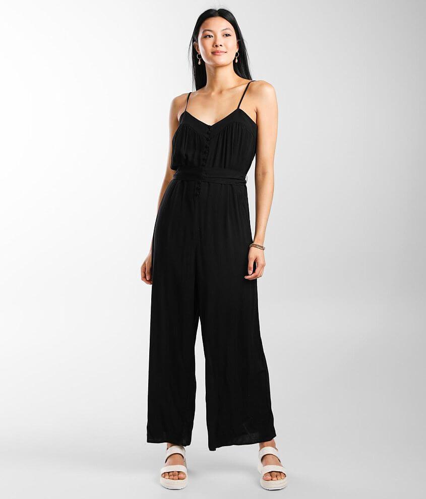 Trixxi Sleeveless Wide Leg Jumpsuit front view