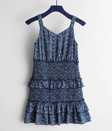Girls - Trixxi Smocked Floral Dress