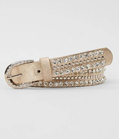 BKE Metallic Studded Belt