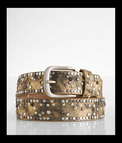 BKE Faux Leather Glitz Belt