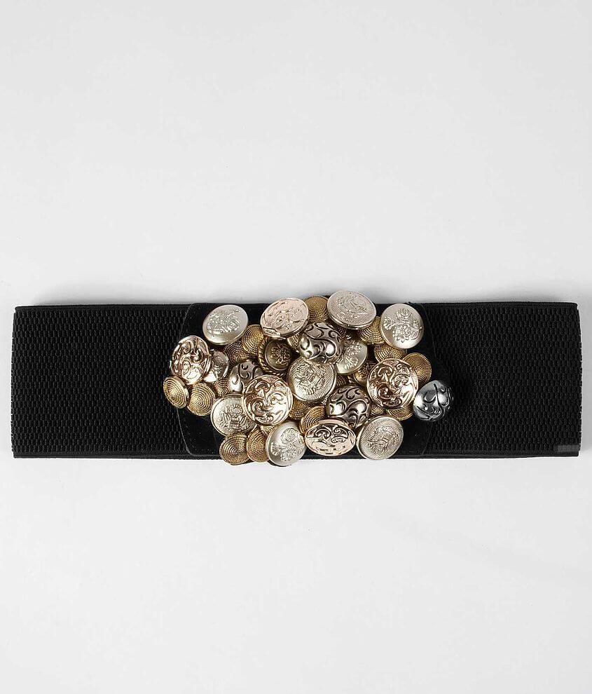 Daytrip Button Belt front view