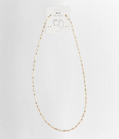 Chain Mask Holder Necklace