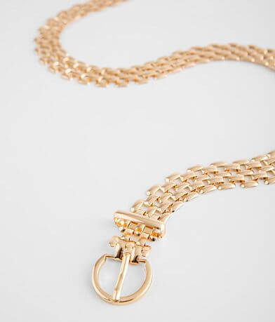 BKE Weaved Chain Belt
