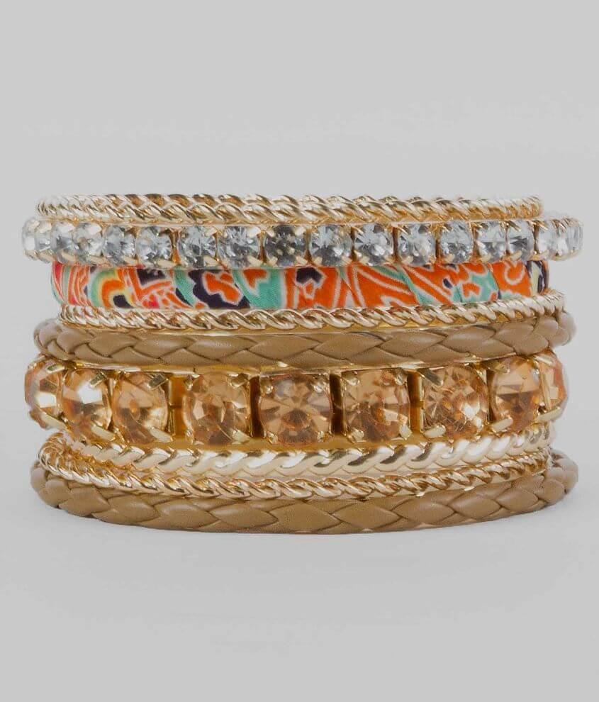 BKE Bangle Bracelet Set front view