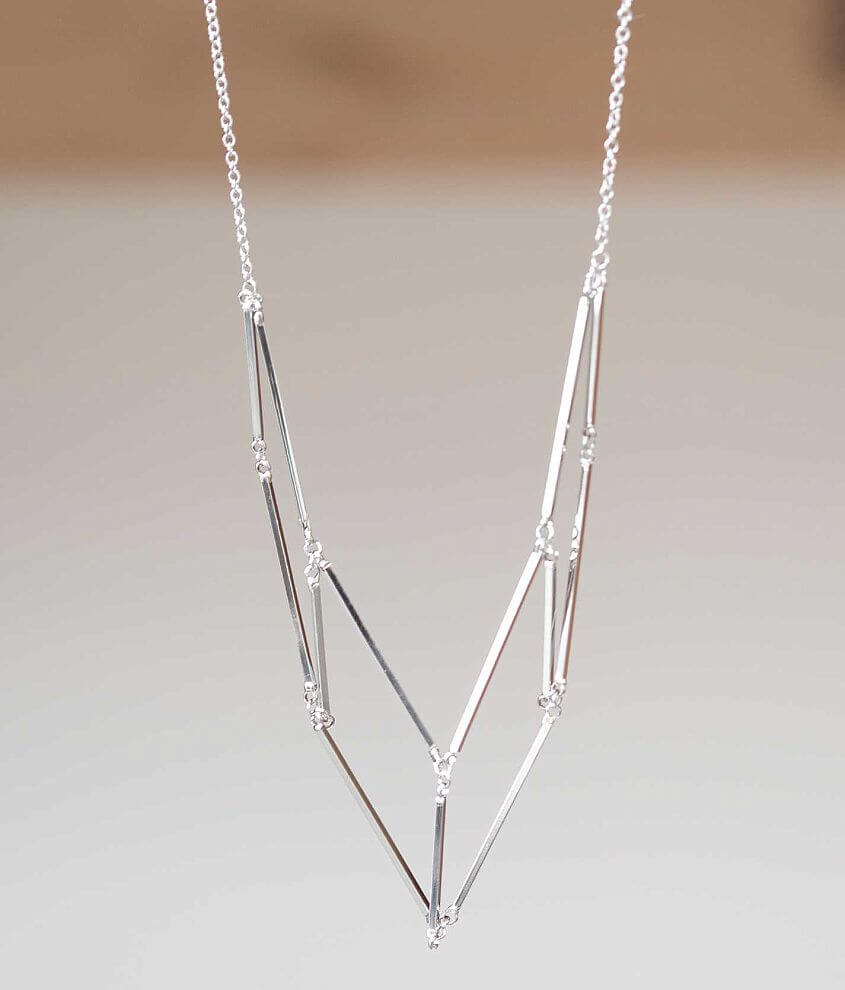 BKE Geometric Necklace front view