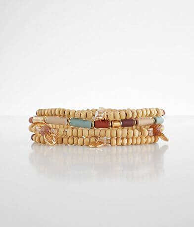 BKE Wooden Bracelet Set