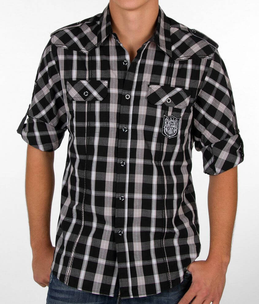 Truth Soul Armor Plaid Shirt front view