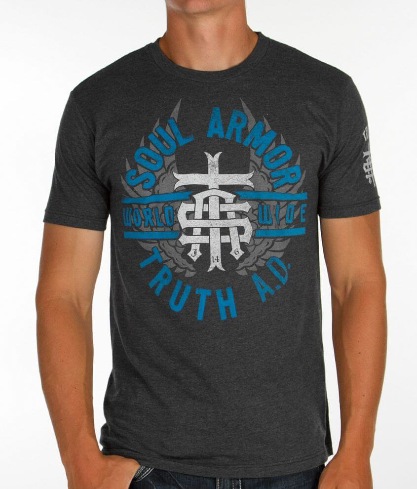 Truth Soul Armor Service T-Shirt front view