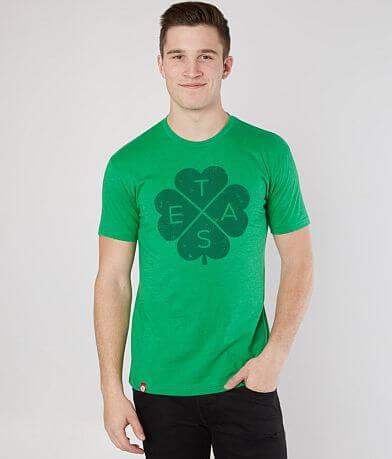 Tumbleweed TexStyles Big X 4 Leaf Clover T-Shirt