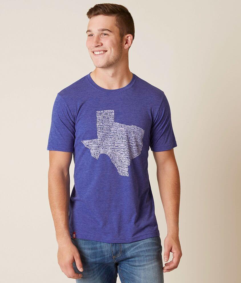 44f185216 Tumbleweed TexStyles Texas Towns T-Shirt - Men's T-Shirts in Royal ...