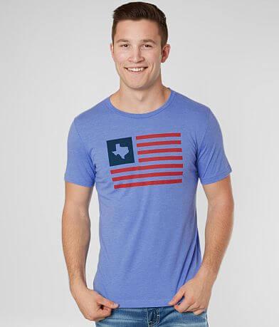 Tumbleweed TexStyles Patriotic Texas Flag T-Shirt