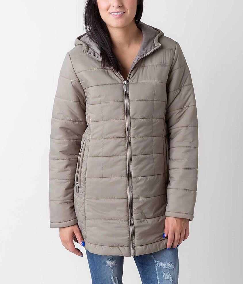 Ashley Puffer Coat front view
