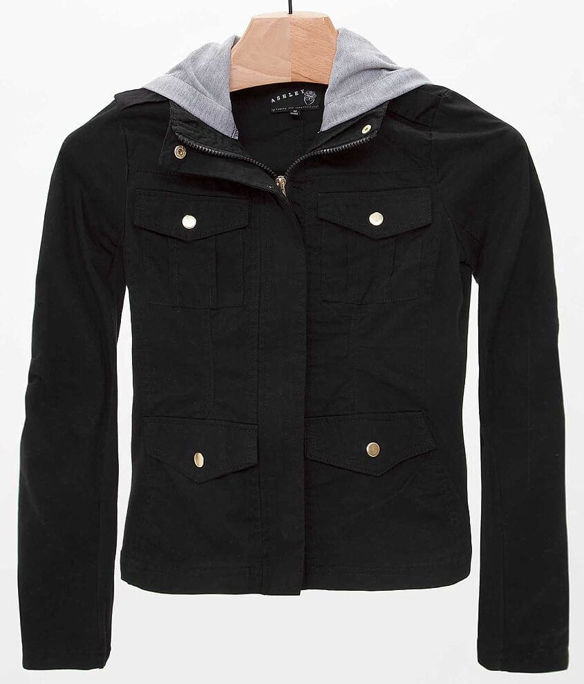 Ashley Pieced Jacket front view